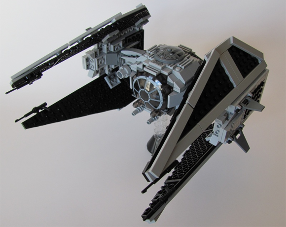 TIE/In Interceptor moc by IMPERIAL FLEET