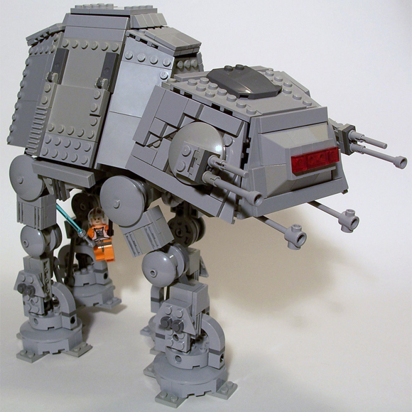 A chibi AT-AT by M<0><0>DSWIM