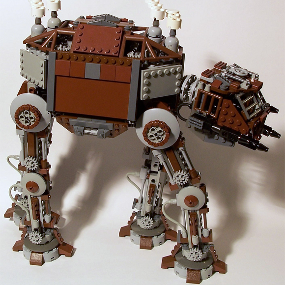 A steampunk AT-AT by M<0><0>DSWIM