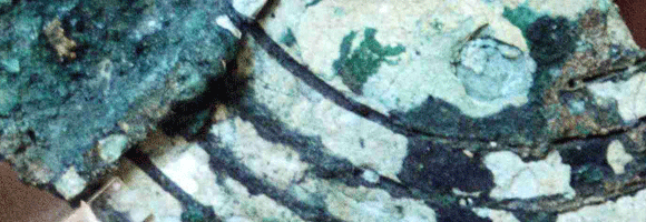 Antikythera mechanism fragment