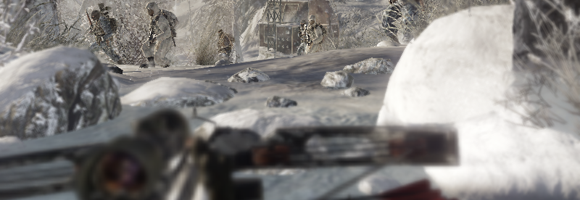 Lying low in the Soviet winter in 'Call of Duty: Black Ops' (Treyarch 2010)