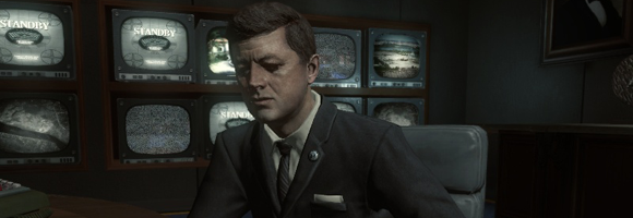 JFK in 'Call of Duty: Black Ops' (Treyarch 2010)