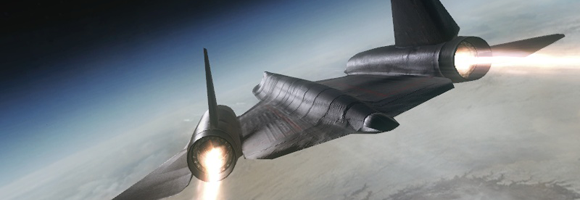 An SR-71 'Blackbird' in 'Call of Duty: Black Ops' (Treyarch 2010)
