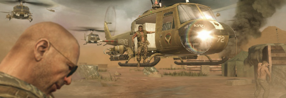 Arriving in the Vietnam theatre in 'Call of Duty: Black Ops' (Treyarch 2010)