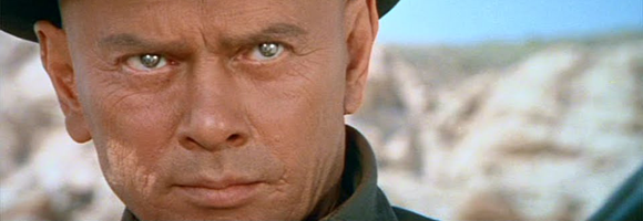 Yul Brynner in 'Westworld' (Crichton 1973)
