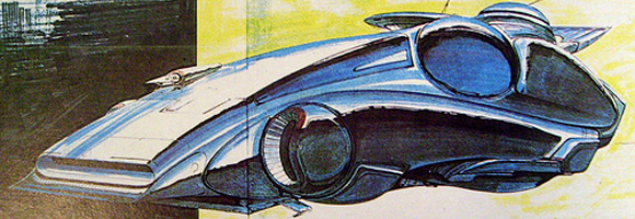 Police spinner design by Jim Burns