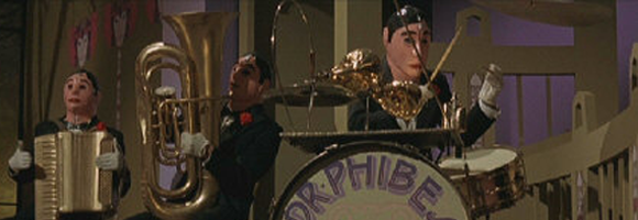 Dr Phibes Clockwork Wizards