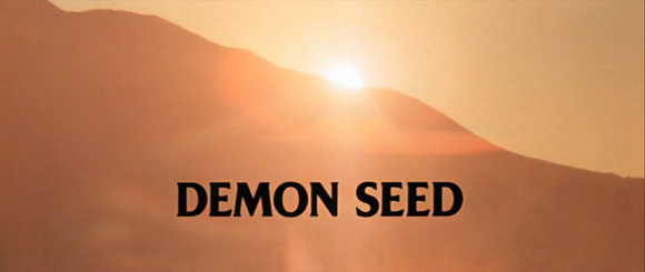 Title card of 'Demon Seed' (Cammell 1977)