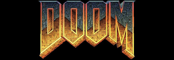 the DOOM logo
