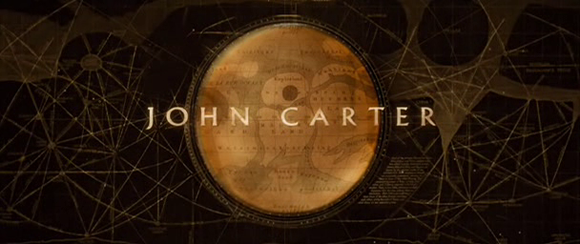 Title card of 'John Carter' (Stanton 2012)