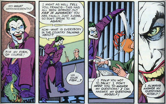 The Joker in Strange Apparitions