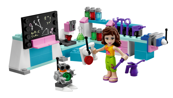 LEGO friends set 3933 'Olivia's Inventor's Workshop'