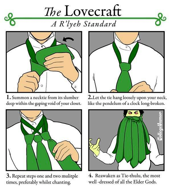 The Lovecraft: A R'lyeh standard
