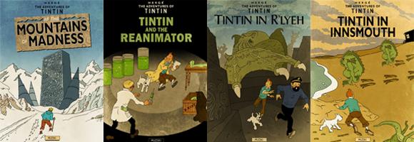 Lovecraftian Tintin