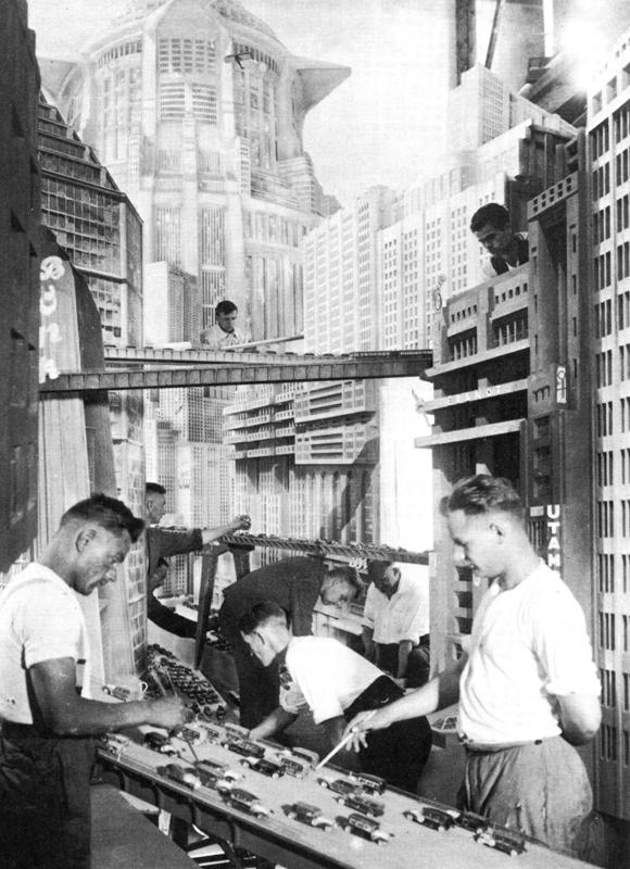 Metropolis scenery