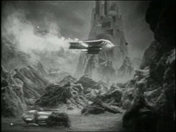 Screencap from 'The Planet of Peril' (Stephani & Taylor 1936)