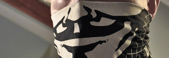 OWS Guy Fawkes Bandanna designed by Matthew Borgatti