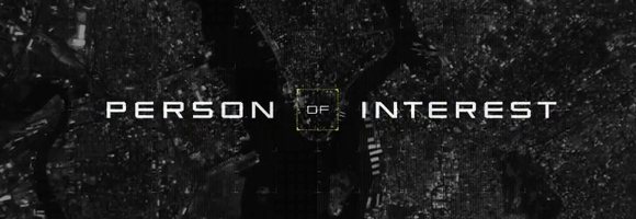 Detail of the season 2 titlecard of the television series 'Person of Interest' (Nolan 2011-present)