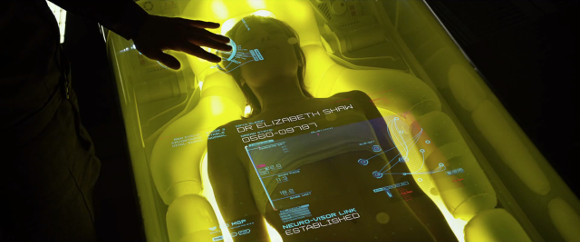 An interface from 'Prometheus' (Scott 2012)
