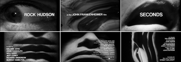 Title screens of 'Seconds' (Frankenheimer 1966)