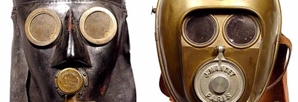 Rescue masks from the 19th century