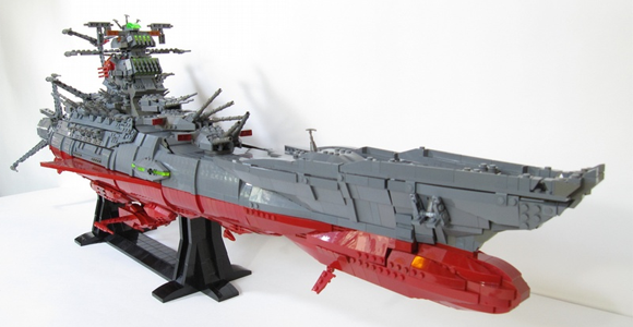 Space Battleship Yamatao, a moc by Mark Rodrigues