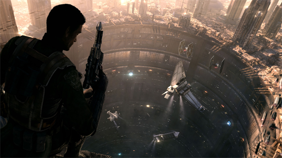 Concept art for 'Star Wars: 1313'